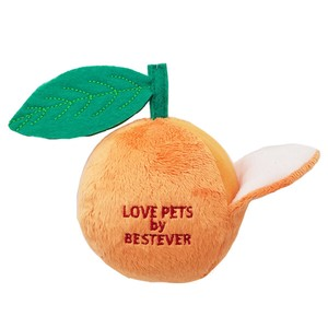 Love Pets Orange / Dog Toy / Plush