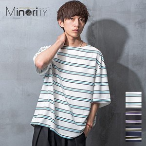 S/S Multi Border Big T-shirt