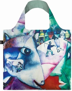 LOQI(ローキー)エコバッグ Museum Collection CHAGALL/I and the Village