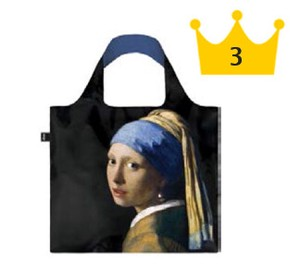 LOQI(ローキー)エコバッグ Museum Collection VERMEER/Girl with Pearl Earring