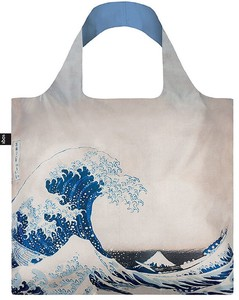 LOQI(ローキー)エコバッグ Museum Collection HOKUSAI/The Great Wave 北斎