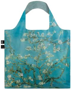 LOQI(ローキー)エコバッグ Museum Collection VAN GOGH/Almond blossom ゴッホ