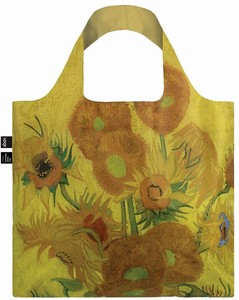 LOQI(ローキー)エコバッグ Museum Collection VAN GOGH/Sunflowers ゴッホ