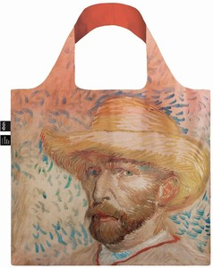 LOQI(ローキー)エコバッグ Museum Collection VAN GOGH/Self-Portait with Straw Hat ゴッホ