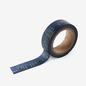 [masking tape] Night forest
