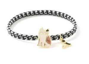 Electrical Prevention Motif Bracelet Tortoiseshell cat