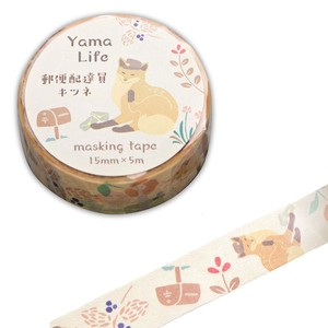 Life Washi Tape Fox