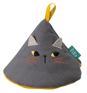 Potholder cat Black [2019NewItem]