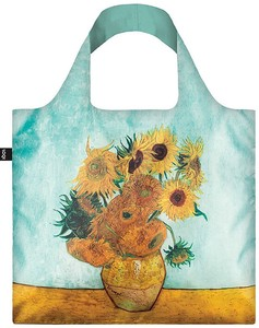 LOQI(ローキー)エコバッグ Museum Collection VAN GOGH/Sunflowers,1888 ゴッホ