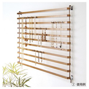 Accessory Panel Rack Antique Gold