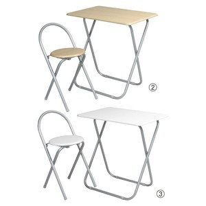 Work Stand Folding Table Set