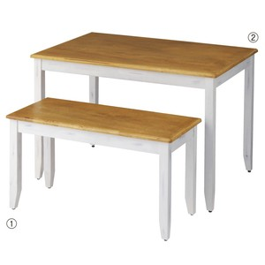 Original Tools/Furniture Natu Table Natural White