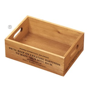 Daily Work Wood Box