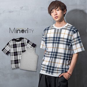 S/S Over Checkered Ensemble