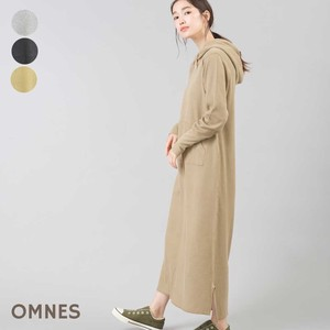 Waffle Long Sleeve Hoody One-piece Dress [2019NewItem]