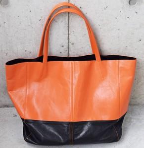 2ca16fb6d0f Waterproof Processing Himeji Return Tote Bag Orange Men's Ladies Orange