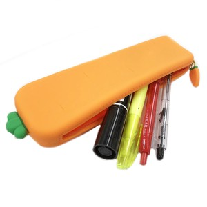 Carrot Silicone Pencil Case