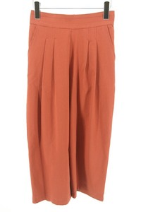 Late Summer Early Autumn Behind Waist Tuck Natural Gaucho Pants