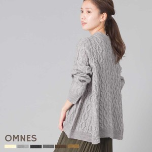 Wool Cable Flare Knitted Pullover