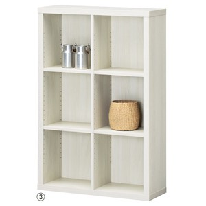 Wooden Rack White