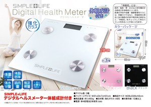 Weighing Scale Digital Meter Attached