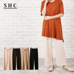S/S Pleats Pants Color