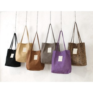 Fake Suede Tote