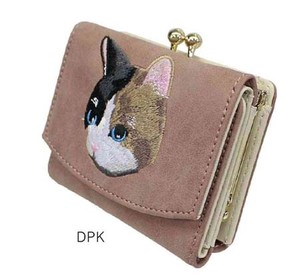 muumarju Merge cat Embroidery Gamaguchi Wallet Reserved items