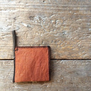 Return Persimmon -Dyed Linen Filter