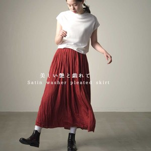 Washer Pleats Skirt
