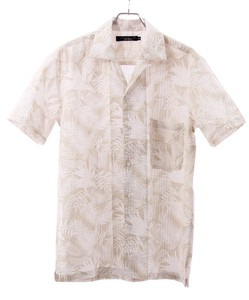 Soccer Good Botanical Print Shirt