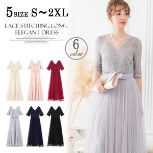 【2019新作】パーティードレス ワンピース 二次会ドレス 結婚式ドレス ロングドレス 大きいサイズ