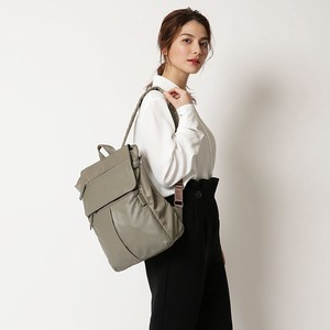 【ロングセラー】Nylon×Cow leather combi series Rucksack
