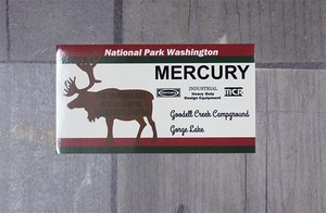 Mercury Sticker [2019NewItem]