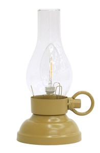 LED Filament Light Mustard