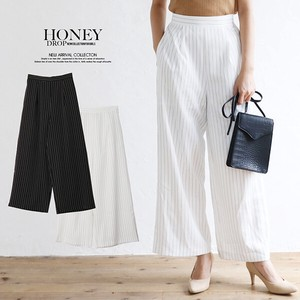A/W Stripe wide pants