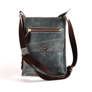 Genuine Leather Clutch Shoulder Bag