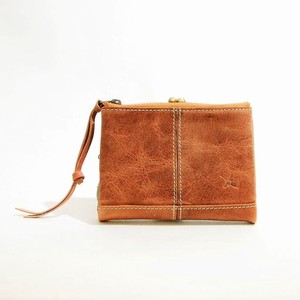 Genuine Leather Gamaguchi Wallet A3