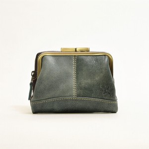 Genuine Leather Gamaguchi Wallet