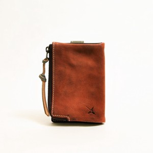 Genuine Leather Combi Color Key Case