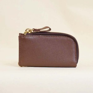 Cow Leather Key Case Men's Ladies Leather Brown