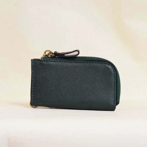 Cow Leather Key Case Green Men's Ladies Leather Green