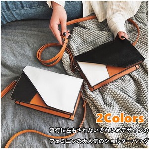 Ladies Wallet Diagonally Bag Leather Large capacity Light-Weight Smallish