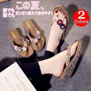 Ladies Slipper Flip Flop Flower Japanese Sandals Slip