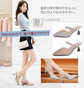 Ladies S/S Sandal High Heel Pumps Strap Beautiful Legs