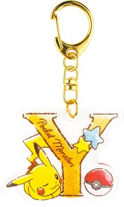 Tease Pocket Monster Initial Acrylic Key Ring