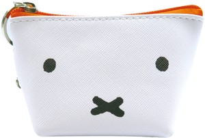Tease Feeling Attached Triangle Mini Pouch Miffy