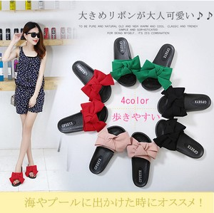 Ribbon Sandal Pool Swimwear 4 Colors