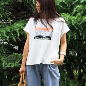 T-shirt French T-shirt Top Casual Print
