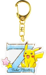 Pocket Monster Initial Acrylic Key Ring [2019NewItem]
